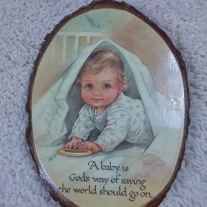 NURSERY DECOR VINTAGE  BABY
